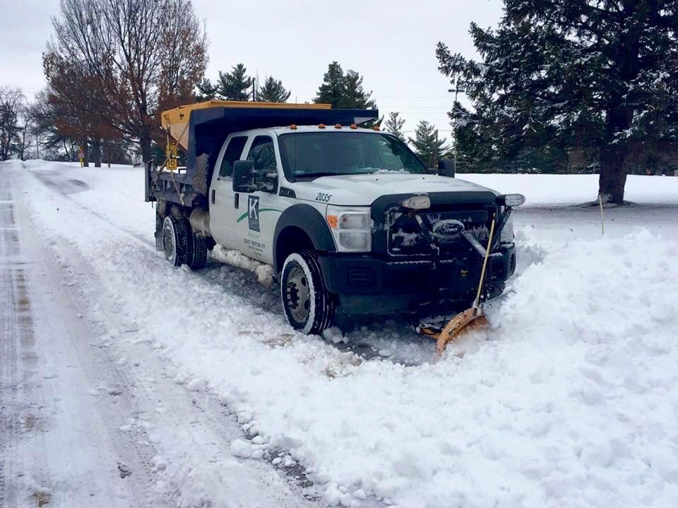 """""""They're always on time,"""" says EKPC facilities supervisor on Klausing Group's snow removal service."""