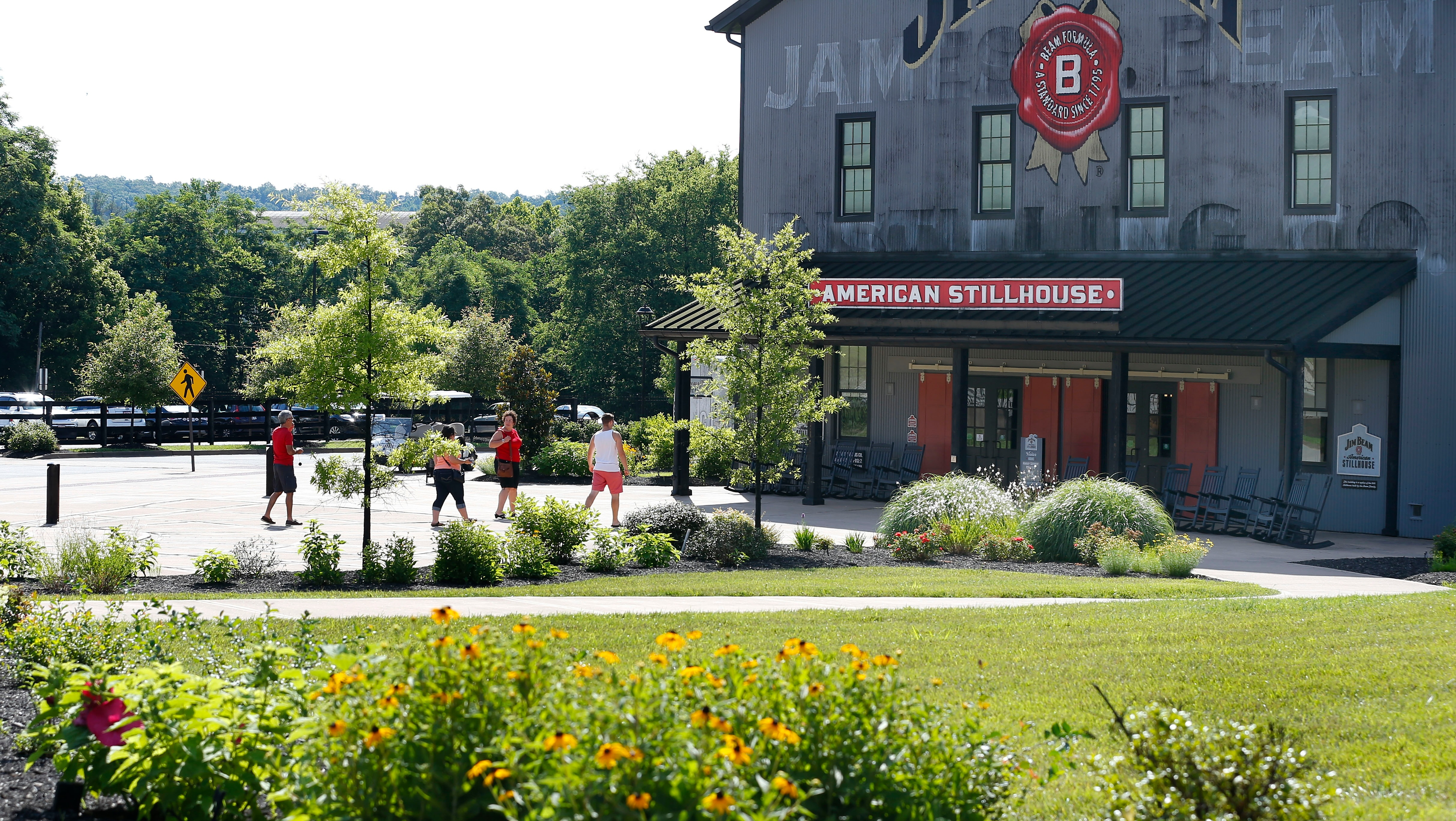 The visitor route for the Jim Beam Distillery public tours has to be immaculate.
