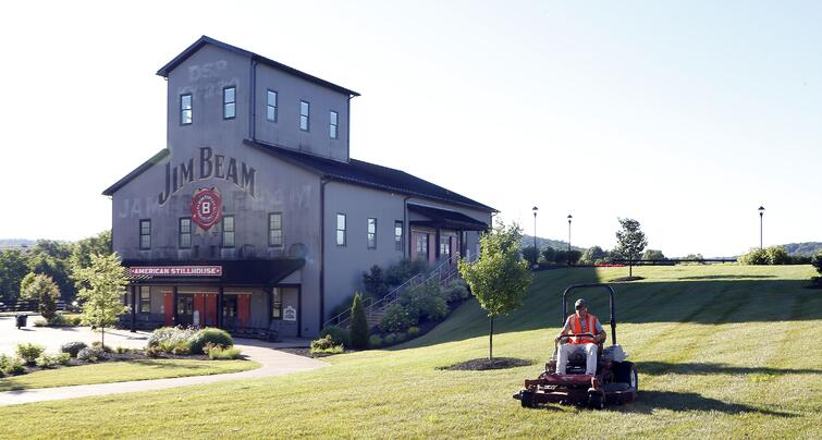 The 420+ acre Beam Suntory property in Clermont, Kentucky.