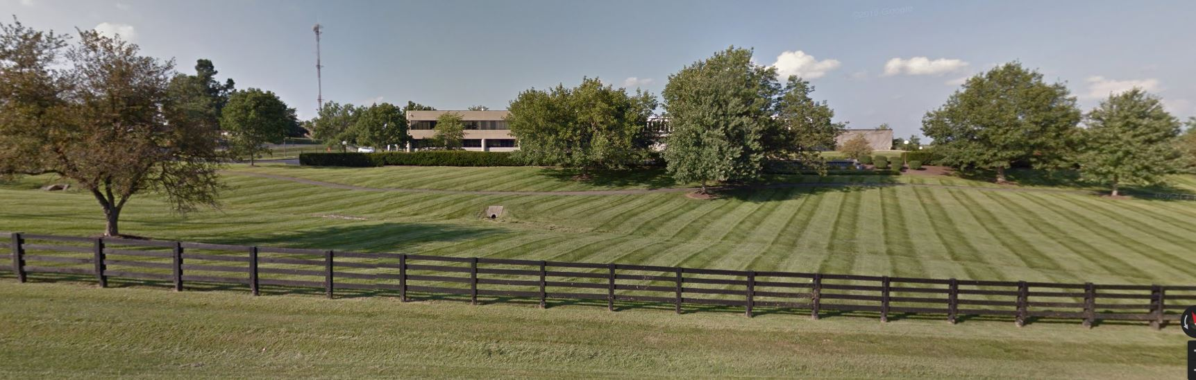 The more public-facing portion of EKPC gets the finish-mow treatment on a weekly basis.