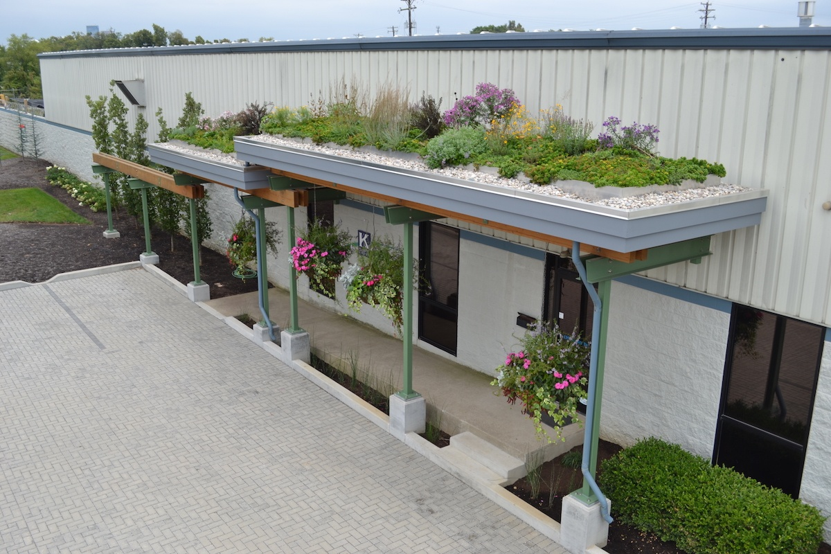 Green roof - Green Infrastructure example