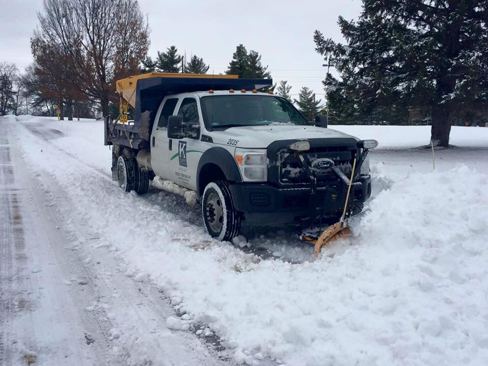 a Klausing Group snow plow