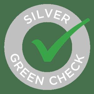Silver Level Green Check logo