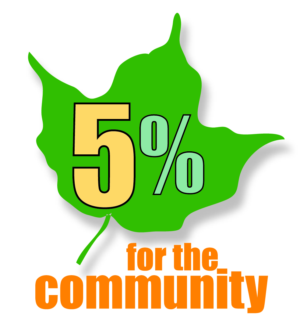 5% for the Community